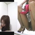 期間限定!お花見カフェの仮設トイレ3カメ盗撮 part8