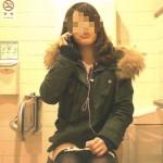 デパートの女子トイレを高画質正面盗撮