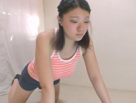 モデル希望女子の羞恥フィットネス part2
