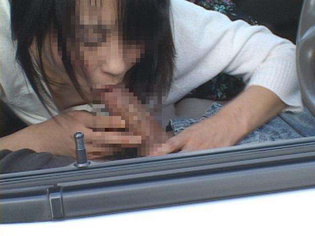 ホストと女性客のカーセックス盗撮 6