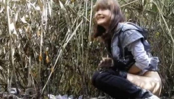 ロシア美女達の野ション&野糞盗撮