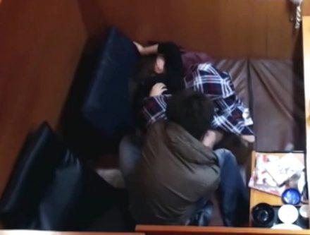 ネットカフェで激撮されたガチ映像 part7